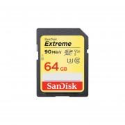 Memoria Sandisk Extreme SDXC De 64 GB, Clase 10. SDSDXVE-064G-GNCIN