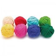 buttinette Textilgarn-Mix-Set, bunt, 1.000 g