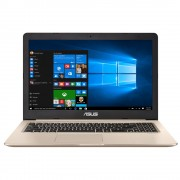 "Notebook Asus VivoBook Pro N580VD, 15.6"" Full HD, Intel Core i7-7700HQ, GTX 1050-2GB, RAM 8GB, HDD 500GB + SSD 128GB, Endless, Auriu"