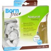Bornfree Natural Feeding Classic Bottle - Medium Flow - 3 Pack - 9 oz Bottles