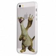 Husa Silicon Transparent Slim Ice Age Sid Apple iPhone 5 5S SE