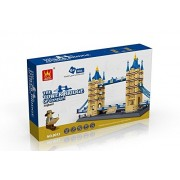 Tower Bridge Of London England Building Blocks 1033 Pcs Set!Worlds Great Architecture Series