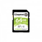 Memorija SDHC 64GB Kingston Class 10 + SD adapter UHS-I 10MB/s, SDS/64GB
