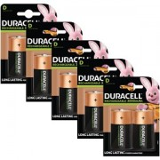 Duracell Rechargeable D Size 10 Pack (BUN0059A)