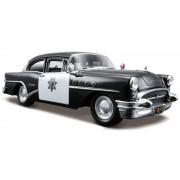 Maisto Modelauto Buick Century politieauto 1955 1:24
