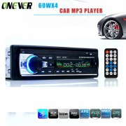 60WX4 Autoradio 12 V Bluetooth V2.0 Auto Audio Stereo In-dash 1 Din FM Aux Ingang Ontvanger SD USB MP3 MMC WMA Autoradio Mp3 speler