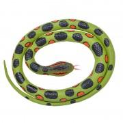 Geen Rubberen speelgoed anaconda slang 117 cm