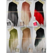Pashmina Scarf Luxury 2 tone Soft & Silky Shawl Great Colours
