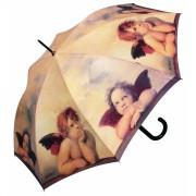 Doppler Dámský deštník Holový vystřelovací - Andělé