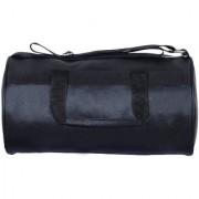 New Leather Look Multi-purpose Gym Bag Travel Duffel Bag (Black Sling Bag)