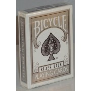 Bicycle Deck (808) Poker Silver