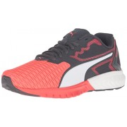 PUMA Ignite Dual JR Running Shoe Red Blast/Puma White 6 M US Big Kid