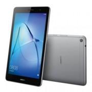 """Таблет Huawei Mediapad T3 (сив), 8"""" (20.32 cm) WXGA IPS дисплей, четириядрен Qualcomm MSM8917 A53 1.4GHz, 2GB RAM, 16GB Flash памет (+ microSD слот), 5.0 & 2.0 Mpix камера, Android 7.0 Nougat, 350g"""