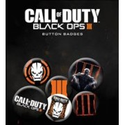 Insigna Call of Duty Black Ops 3 Pachet 6 bucati