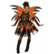 Princess Ravena Disfraz de Hada de Halloween, Negro/Anaranjado, Pequeño