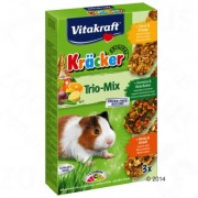 3x3 Combi (Honing, Vruchten, Noten) Vitakraft Cavia Biscuits Trio-Mix