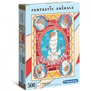 Puzzle Fantastic Animals Llamaste Clementoni 500 piese
