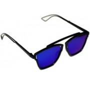 BULL-I Retro Square Sunglasses(Blue)