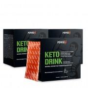 PowGen Keto Drink: s nízkým obsahem sacharidů pro ketogenní dietu.