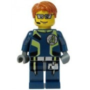 Agent Fuse - LEGO Agents 2 Figure