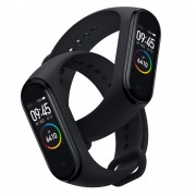 Bratara fitness Xiaomi MI Band 4 HR AMOLED 0.95 RGB waterproof bluetooth 5.0 20 zile autonomie EU negru