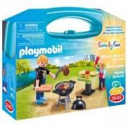 Комплект Плеймобил 5649 - Барбекю в куфарче, Playmobil, 2900080