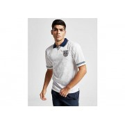 Score Draw England '90 World Cup Home Shirt Heren - White/Navy