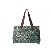 Vera Bradley Triple Compartment Travel Bag Rain Forest