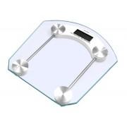 Sklenená digitálna váha do kúpeľne