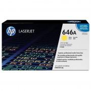 HP 646A Tóner Original Laserjet Amarillo