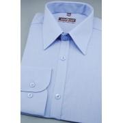 Pánská košile KLASIK středně modrá 527-299-39/182