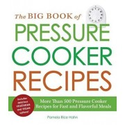 The Big Book of Pressure Cooker Recipes: More Than 500 Pressure Cooker Recipes for Fast and Flavorful Meals, Paperback/Pamela Rice Hahn