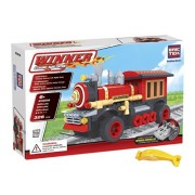 Brictek 20209 Radio Controlled Red Train Engine 326 Pcs Building Blocks (Compatible With Legos) With Block Remover