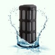 Quazar Loudbox bluetooth vezeték nélküli hangszóró powerbankkel, fekete