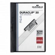 Durable Skoroszyt zaciskowy DURABLE DURACLIP 1-30 czarny 25szt.