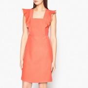 Paul & Joe Платье летнее, квадратное декольте с воланами CLOTHILDE