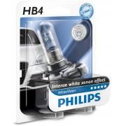 1 ampoule HB4 9006 Philips White Vision 4300k