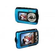 Polaroid Camara digital polaroid if045 azul 14mp doble pantalla 2.7/1.8 sumergible 3mts