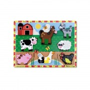 Puzzle relief Animale de ferma