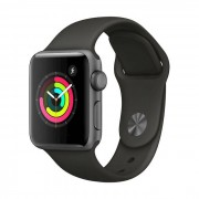 Apple Watch Series 3 GPS 38mm Space Grey - Cinturino Sport Grigio
