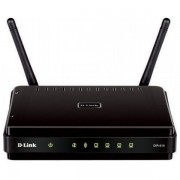 Router wireless D-LINK DIR-615, 300Mbps, WAN, LAN, negru