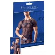 Svenjoyment Harness Powernet Short Sleeved T Shirt Black 2161028