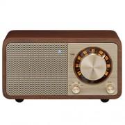 Sangean Radio Portátil Bluetooth SWR7 Nogal