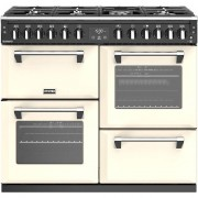 Stoves Richmond S1000DF 100cm Dual Fuel Range Cooker - Cream - A/A/A Rated