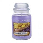 Yankee Candle Lemon Lavender 623 g vonná sviečka unisex