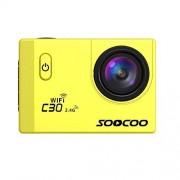 Ocamo Cámara de acción WiFi, C30R Sports Action Camera 4K Gyro 2.0 Pulgadas visualización LCD 30 m bajo el Agua Control Remoto cámara cámara de ángulo Ajustable YJJ1121-dianzi-370DC3E1C5