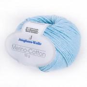 Junghans-Wolle Merino-Cotton von Junghans-Wolle, Bleu