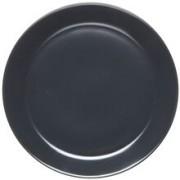 Rörstrand Höganäs assiett med kant 20 cm Grå