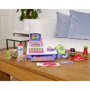 Vinsani Childrens Kids Supermarket Cash Register Pretend Play Shop Grocery Checkout Till