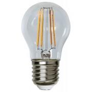 Lampada LED E27 Bianco Caldo 4W Filamento Classe A+